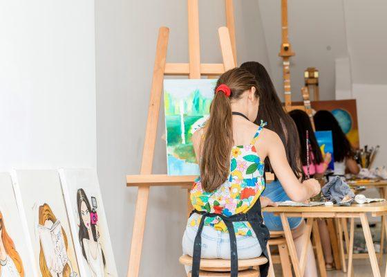 Pintura a Óleo – Figurativa e Abstrata